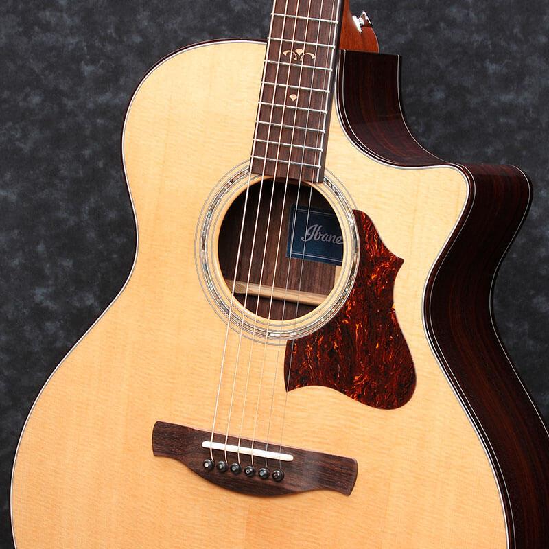 Ibanez 爱宾斯 依班娜 AE900-NT 电箱民谣 木吉他 专业演奏型 02